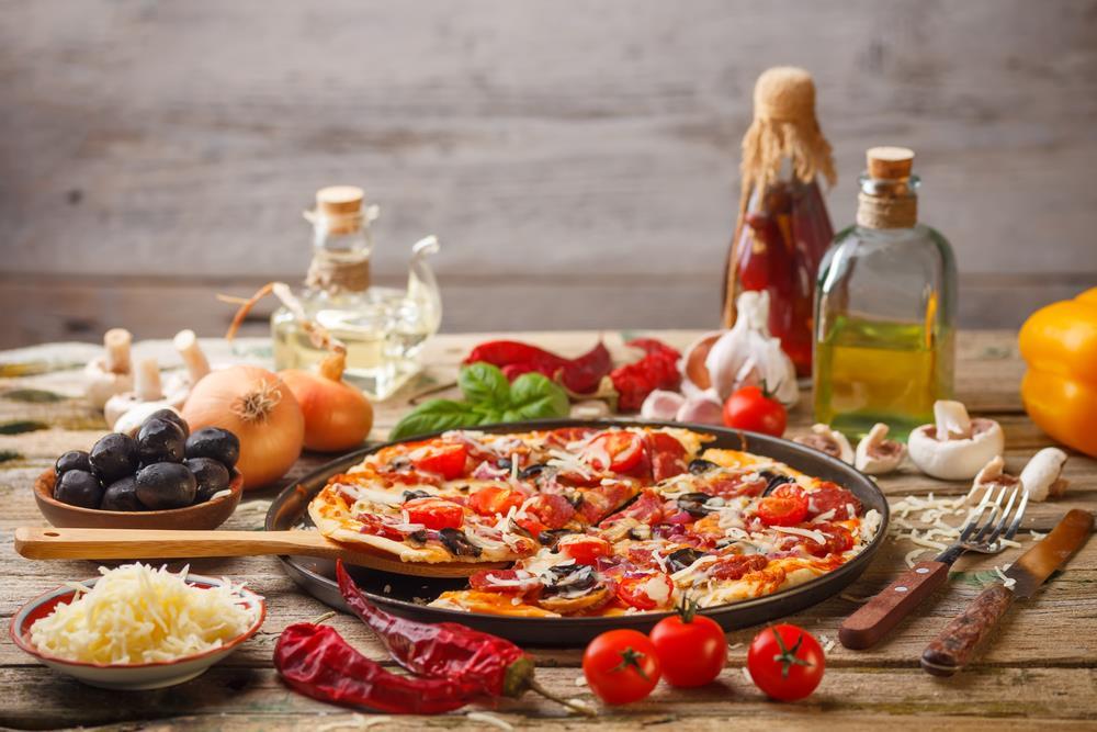 utensilios para pizza