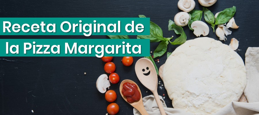 Receta de una Pizza Margarita Original
