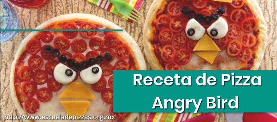 Receta de Pizza Angry Birds