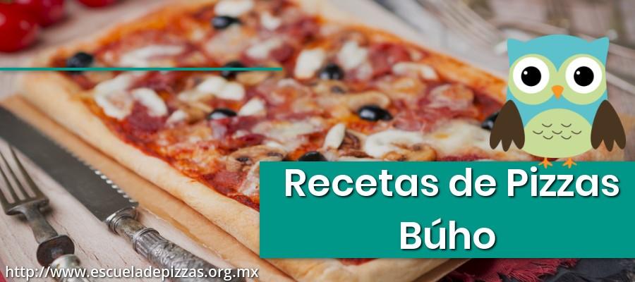 Recetas de Pizzas Búho