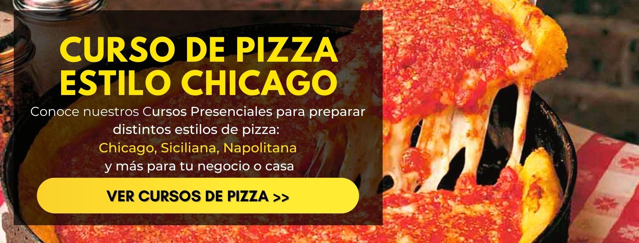 Curso de pizza estilo chicago