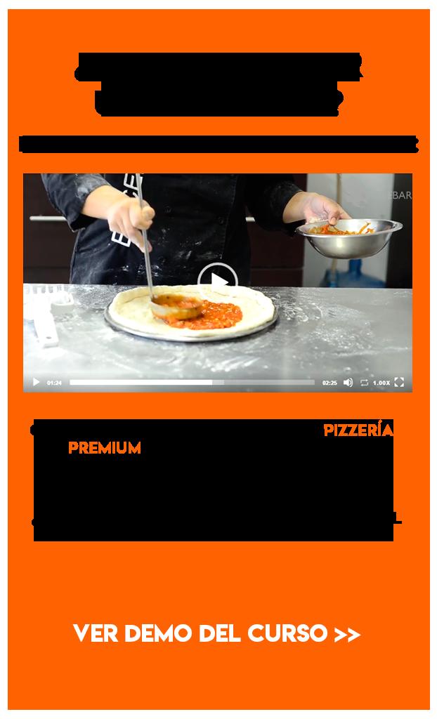 curso online de pizzas